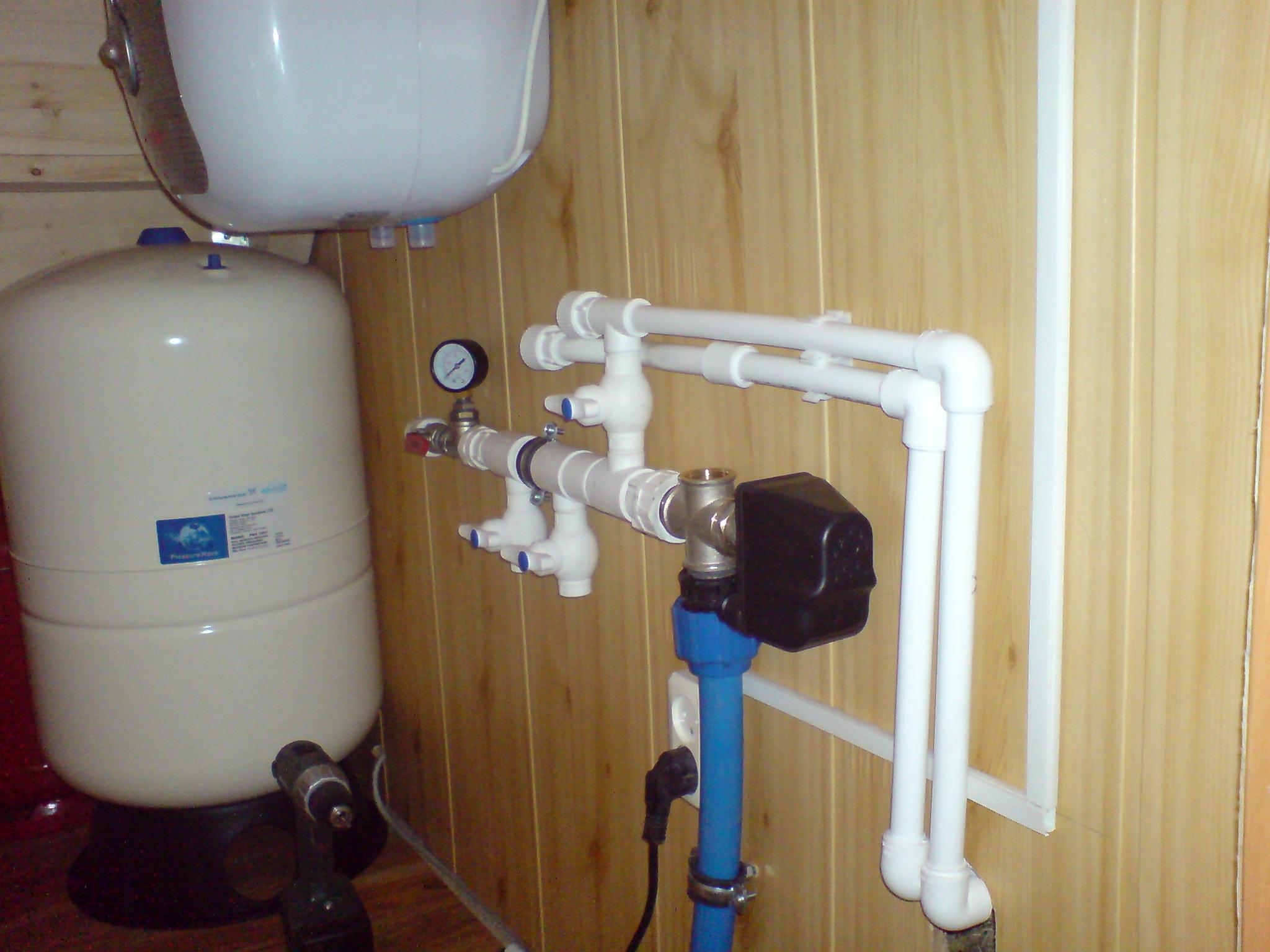 Водопровод в частном доме : инструкция как сделать своими руками, схема 96
