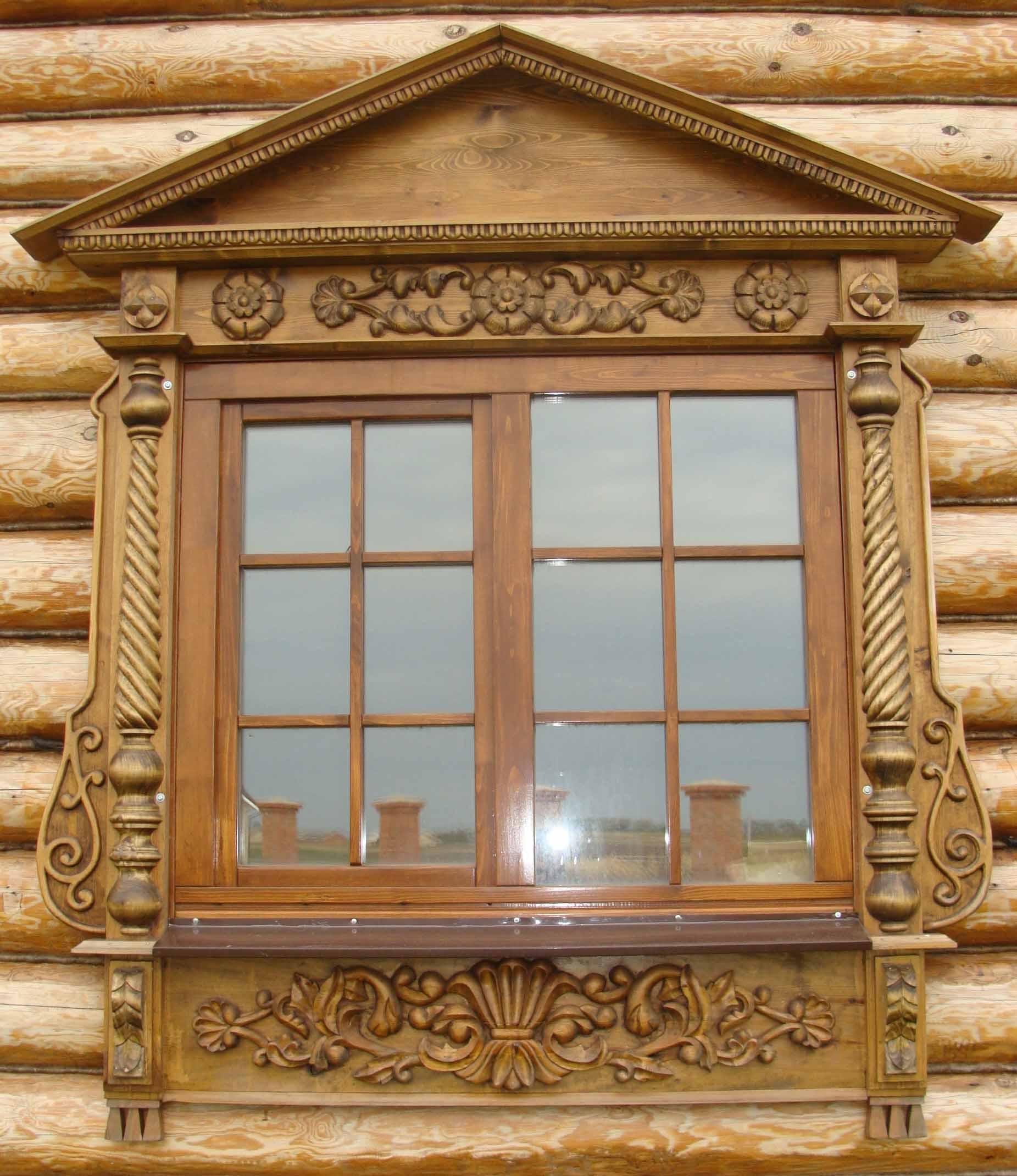 Деревянные окно своими руками фото