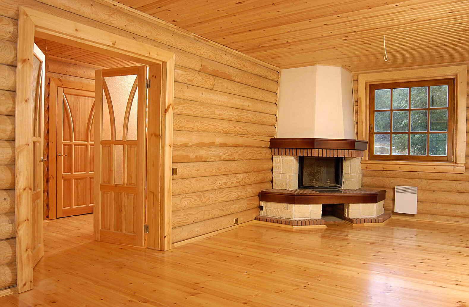 План одноэтажного дома 12 на 12 метров с 3 спальнями и